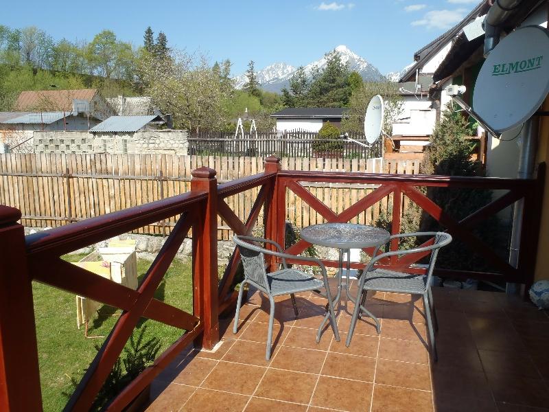 Pohľad z terasy